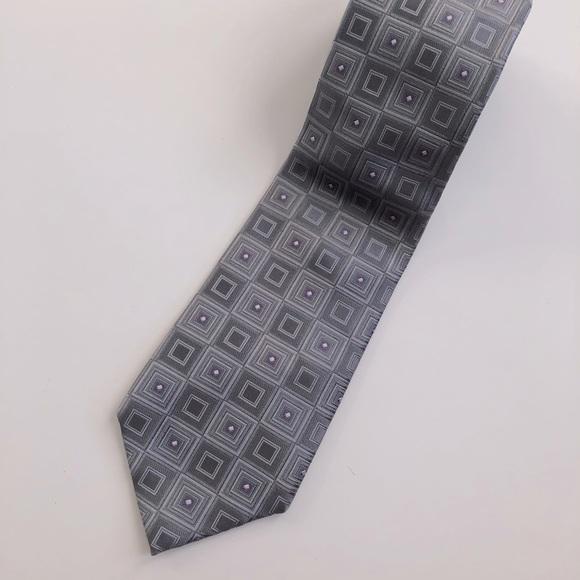 Designer Michael Kors Men's 100% Silk Tie
